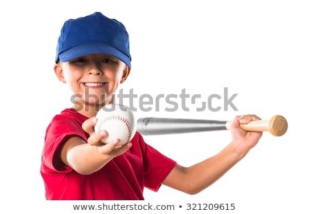 Adorabile piccolo ragazzo giocare baseball parco Foto d'archivio © wavebreak_media