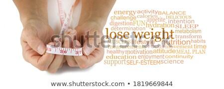 diabète · nuage · de · mots · mot · autour · mots · glucose - photo stock © ribah