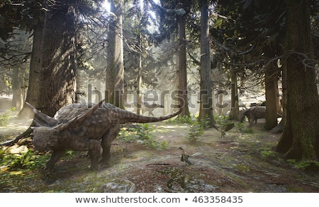 Sauropelta Dinosaur stock photo © AlienCat