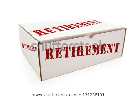 White Box with 401K on Sides Isolated Stock photo © feverpitch