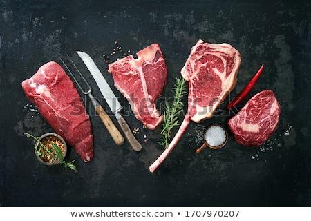 crudo · carne · bordo · ingredientes · alimentos · pollo - foto stock © M-studio