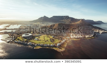 ochtend · Cape · Town · zee · punt · South · Africa - stockfoto © intsys