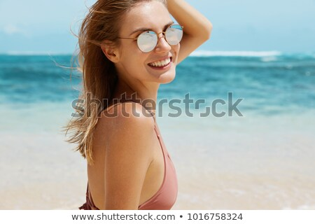 Beautiful woman with perfect body posing in swimwear. Stock photo © PawelSierakowski