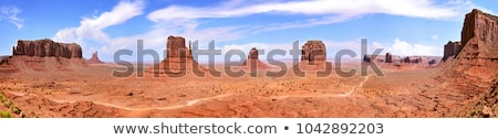 Desfiladeiro panorama Tunísia férias céu paisagem Foto stock © thomaseder