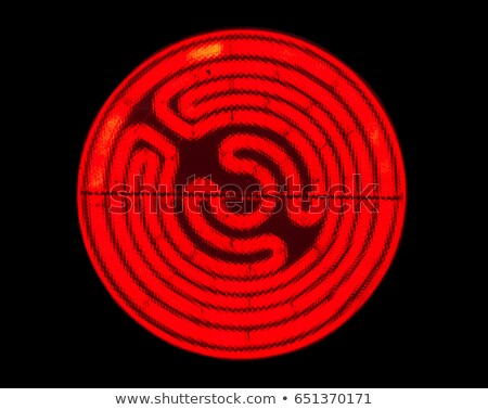 Glowing electric stove spiral stock photo © snyfer