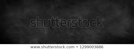 black chalkboard Stock photo © Marcogovel