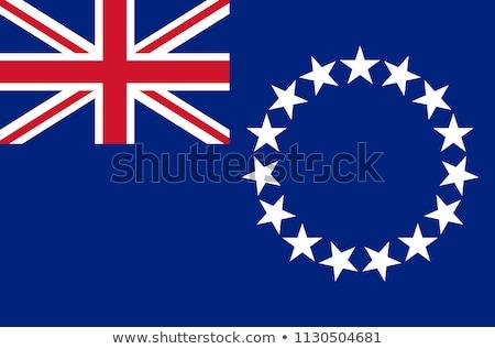 Zászló szakács szigetek terv vidék ruha Stock fotó © joggi2002