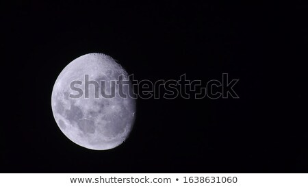 Full moon as seen from the southern hemisphere Stock photo © TanArt