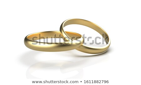 cosmetics and wedding rings stock photo © taden