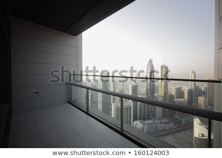 high luxury building skyscraper with balcony Stock photo © fotoduki