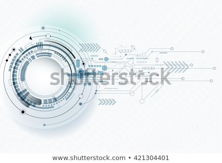 Eye on technology background. Stock photo © Kurhan