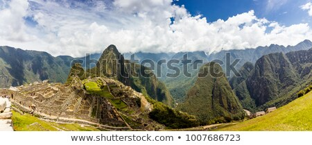 Views from the Andes Peru South America Stock photo © pxhidalgo