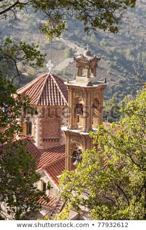 Церкви · Кипр · греческий · православный · здании · синий - Сток-фото © kirill_m