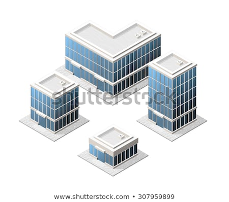 High Building Isometric Stock photo © araga