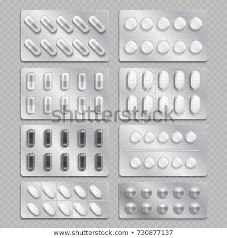 biały · tektury · prostokąt · wektora · pakiet · polu - zdjęcia stock © konturvid