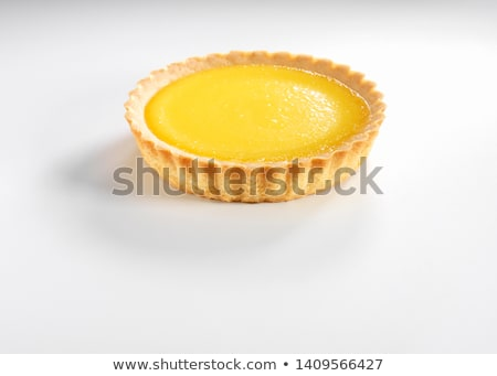 lemon citrus tart Stock photo © M-studio