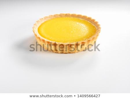 lemon citrus tart stock photo © m-studio
