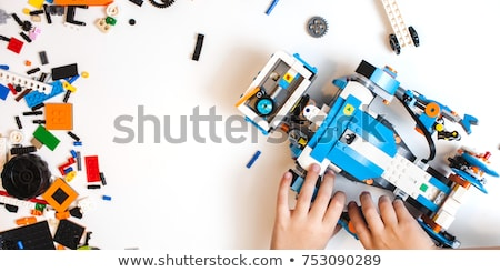children robot Stock photo © perysty