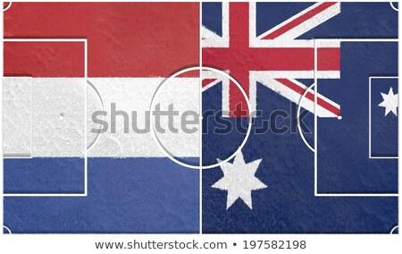 Australië vs Nederland groep fase wedstrijd Stockfoto © smocker03