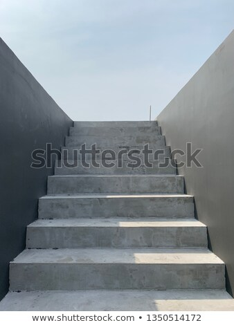 concrete stairs stock photo © nessokv