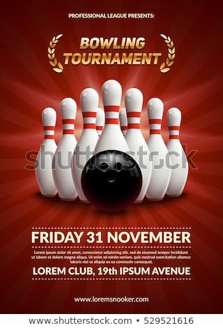 Bowling tournament Stock photo © adrenalina
