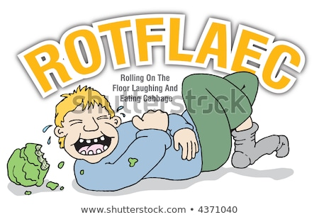 ROTFL is for Rolling on the floor laughing  stock photo © Giulio_Fornasar