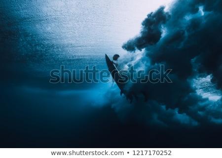 vagues · vague · air · photo · eau - photo stock © ChrisVanLennepPhoto