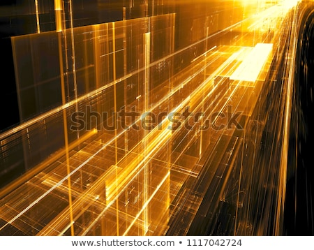 Golden fractal background  Stock photo © shawlinmohd