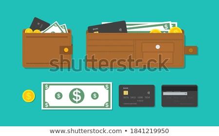 dólar · billetes · bolso · cartera · negocios · papel - foto stock © mikko
