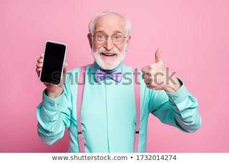 Mooie lang russisch blond vrouw jonge Stockfoto © disorderly