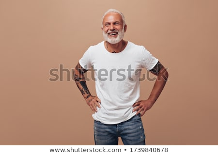 Stock photo: Young attractive man