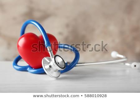 ansiedad · diagnóstico · médicos · informe · pastillas · jeringa - foto stock © tashatuvango