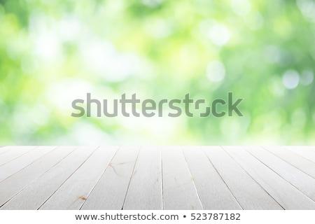 soleil · flare · bokeh · vert · résumé · paysage - photo stock © artjazz