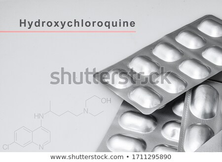 Malaria on the Display of Medical Tablet. Stock photo © tashatuvango
