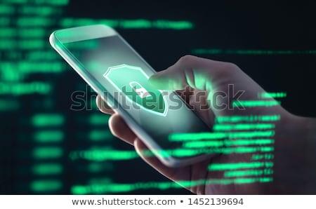 антивирус · интернет · медицинской · здоровья · фон · безопасности - Сток-фото © MONARX3D