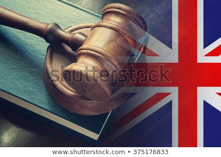 A gavel and a law book - United Kingdom Stock photo © Zerbor