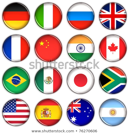 bandera · Reino · Unido · Rusia · pueden · utilizado · comercio - foto stock © m_pavlov