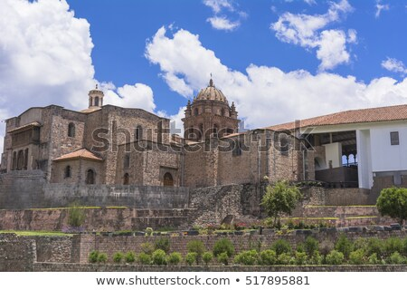 Qorikancha ruins and convent Santo Domingo in Cuzco Stock photo © alexmillos