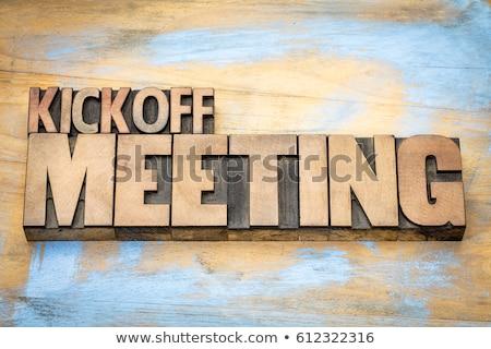 заседание · календаря · исследование · подчеркнуть · запись · испытание - Сток-фото © kk-art