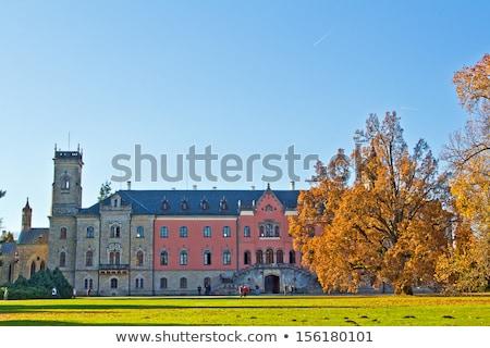 Palace Sychrov, Czech Republic Stock photo © phbcz