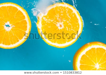 Citrinos salpico símbolo grupo fresco laranjas Foto stock © Lightsource
