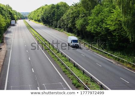 A green van Stock photo © bluering