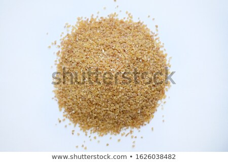 Background texture of fine ground brown bulgur Stock photo © ozgur