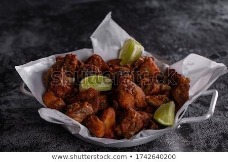 Chicken breast with garlic rub Stock photo © Digifoodstock