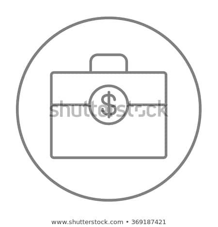 dollarteken · geïsoleerd · icon · witte · business · geld - stockfoto © rastudio