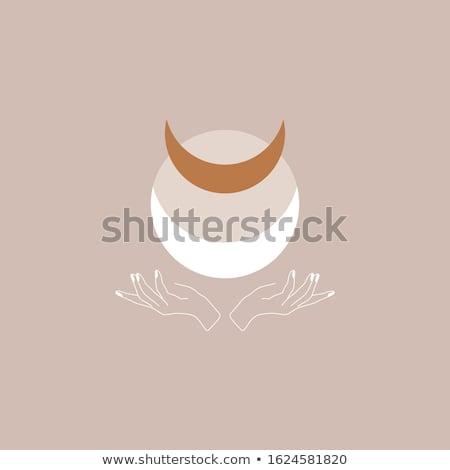 Sacré design jesus océan silhouette dieu Photo stock © sdCrea