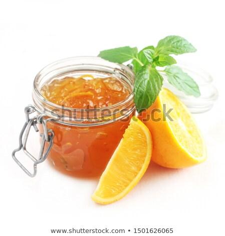 Marmalade isolated Stock photo © IMaster