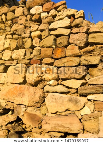 destroyed building earthquake broken house war ruined architec stock photo © popaukropa