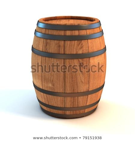 2 · 空っぽ · 透明な · 緑 · ブラウン · ワイン - ストックフォト © simply