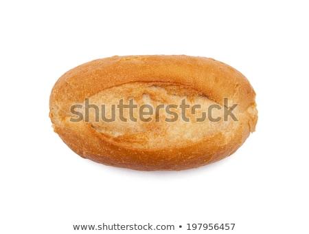 Stock fotó: Hosszú · ropogós · kenyér · tekercsek · szalmaszál · kosár